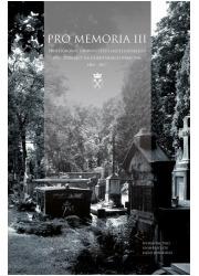 Pro Memoria III. Profesorowie Uniwersytetu - okładka książki
