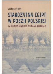 Starożytny Egipt w poezji polskiej. - okładka książki