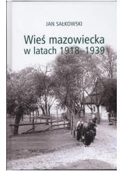 Wieś mazowiecka w latach 1918-1939 - okładka książki