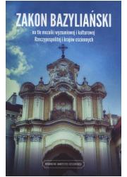 Zakon bazyliański na tle mozaiki - okładka książki