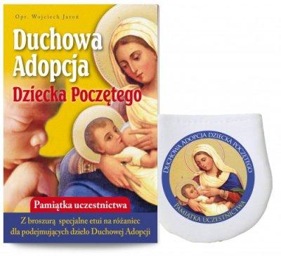 Duchowa adopcja Dziecka Poczętego - okładka książki