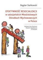 Efektywność resocjalizacji w salezjańskich... - okładka książki