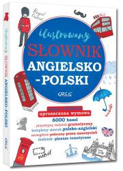 Ilustrowany słownik angielsko-polski, - okładka książki