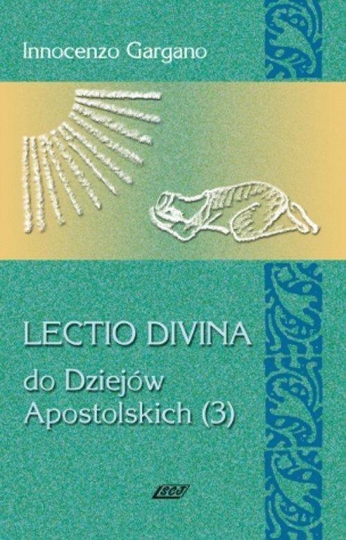 Lectio Divina 12. Do Dziejów Apostolskich - okładka książki