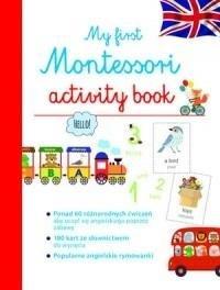 My first Montessori activity book - okładka podręcznika