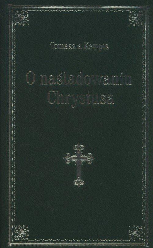 O naśladowaniu Chrystusa (zielony) - okładka książki