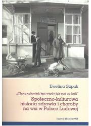 Społeczno-kulturowa historia zdrowia - okładka książki