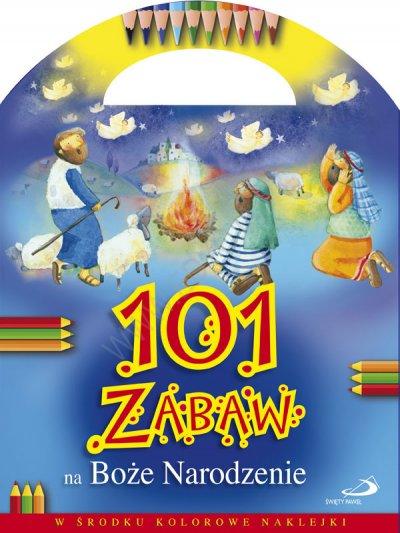 101 zabaw na Boże Narodzenie - okładka książki