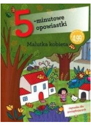 5-minutowe opowiastki: Malutka - okładka książki