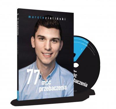 77 moc przebaczenia - pudełko audiobooku