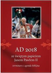 AD 2018 ze świętym papieżem Janem - okładka książki