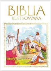 Biblia ilustrowana złota - okładka książki