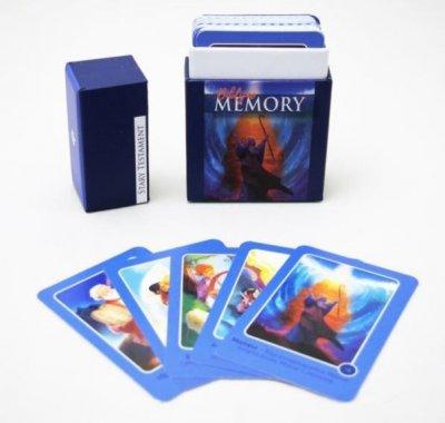 Biblije memory w pudełku - Stary - okładka książki