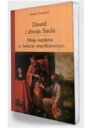 Dawid i zbroja Saula. Misja kapłana - okładka książki