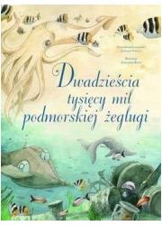 Dwadzieścia tysięcy mil podmorskiej - okładka książki