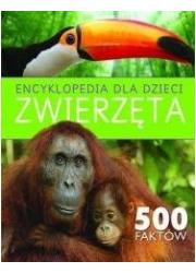 Encyklopedia dla dzieci. Zwierząta. - okładka książki