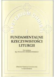 Fundamentalne Rzeczywistości Liturgii - okładka książki