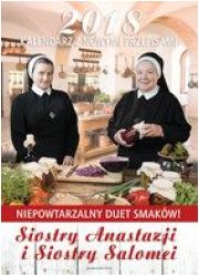 Kalendarz z nowymi przepisami Siostry - okładka książki