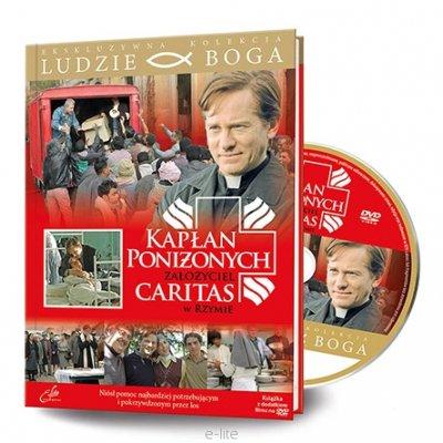 Kapłan poniżonych (Książka + DVD). - okładka książki