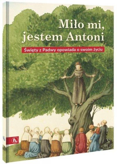 Miło mi, jestem Antoni - okładka książki