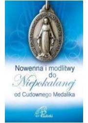 Nowenna i modlitwy do Niepokalanej - okładka książki