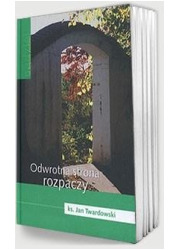Odwrotna strona rozpaczy - okładka książki