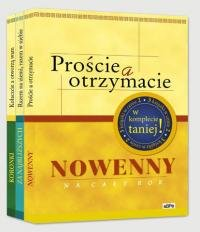 Koronki+Nowenny+Modlitwy za najbliższych. - okładka książki