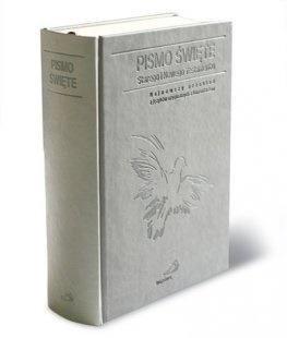 Pismo Święte ST i NT (kolor szary, - okładka książki
