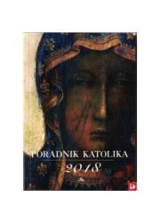 Poradnik katolika 2018. Matka Boża - okładka książki