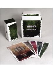 Pudełko - wersety dla mężczyzn - okładka książki
