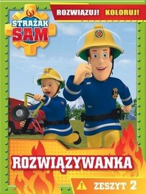 Strażak Sam Rozwiązywanka Rozwiązuj! - okładka książki