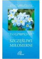 Szczęśliwi miłosierni - okładka książki