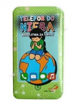 Telefon do nieba: Modlitwa za świat - okładka książki