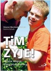 Tim żyje! Historia chłopca, który - okładka książki