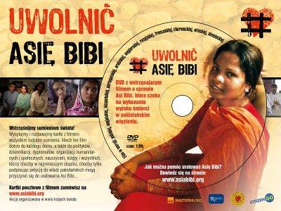 Akcja: Uwolnić Asię Bibi. Kartka - okładka filmu