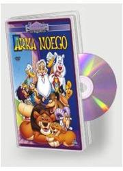Arka Noego (DVD) - pudełko programu