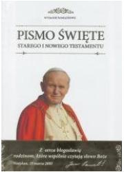 Biblia domowa Diecezjalna - okładka książki