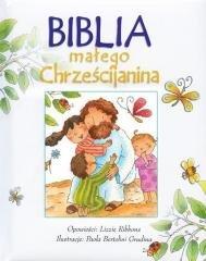 Biblia małego Chrześcijanina - okładka książki