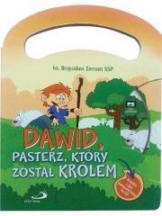 Dawid, pasterz, który został królem - okładka książki