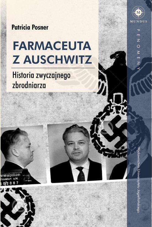 Farmaceuta z Auschwitz. Historia - okładka książki