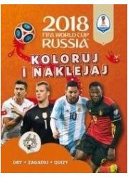 FIFA World Cup 2018 Russia Koloruj - okładka książki