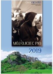 Kalendarz ścienny 2019 Mój Ojciec - okładka książki