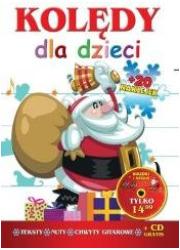 Kolędy dla dzieci. Mikołaj (+ CD) - okładka płyty
