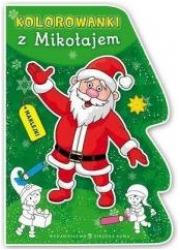 Kolorowanki z Mikołajem - okładka książki