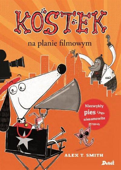 Kostek na planie filmowym - okładka książki