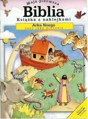 Moja pierwsza Biblia mini Arka - okładka książki