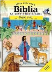 Moja pierwsza Biblia mini Daniel - okładka książki