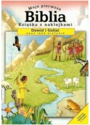 Moja pierwsza Biblia mini Dawid - okładka książki