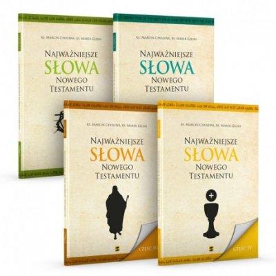Najważniejsze Słowa Nowego Testamentu. - okładka książki