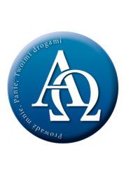 Naklejka samochodowa Alfa i Omega - zdjęcie dewocjonaliów